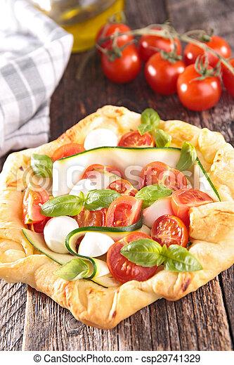 tomato pie - csp29741329