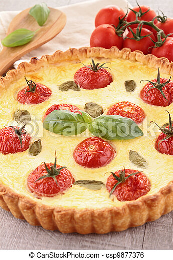 tomato quiche - csp9877376