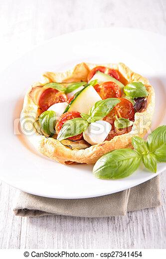 tomato quiche - csp27341454