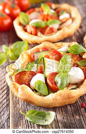 tomato quiche - csp27614350