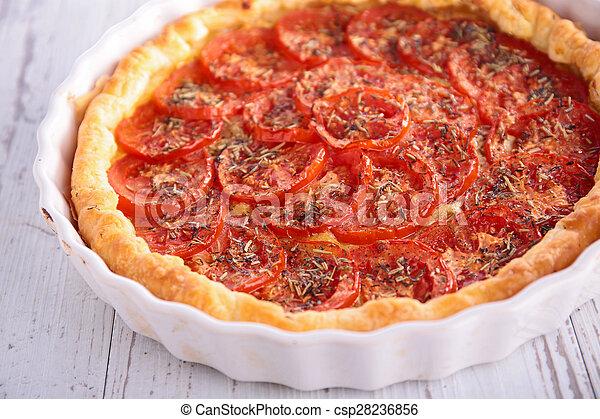 tomato quiche - csp28236856
