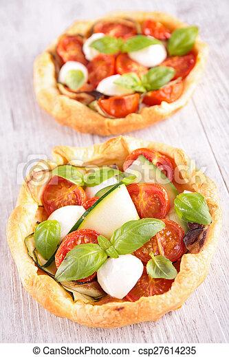 tomato quiche - csp27614235