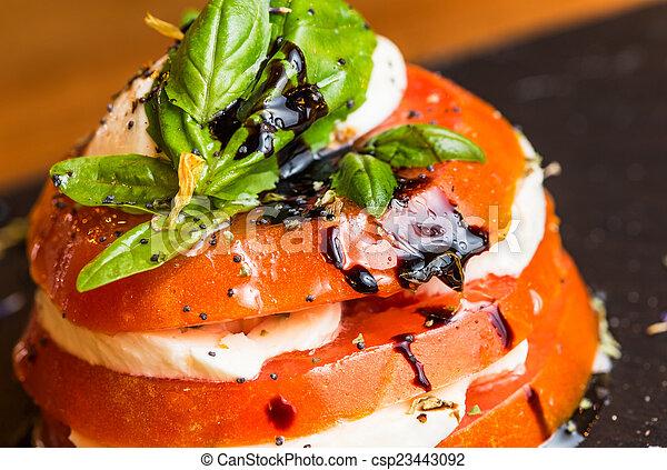 Tomato salad - csp23443092