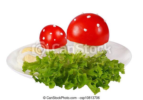 Tomato toadstools - csp10813706