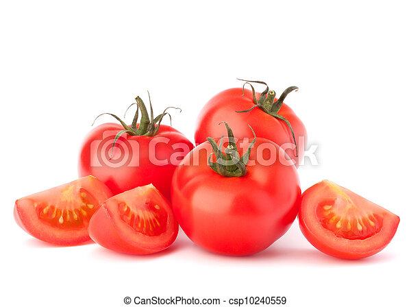 Tomato vegetables pile  - csp10240559