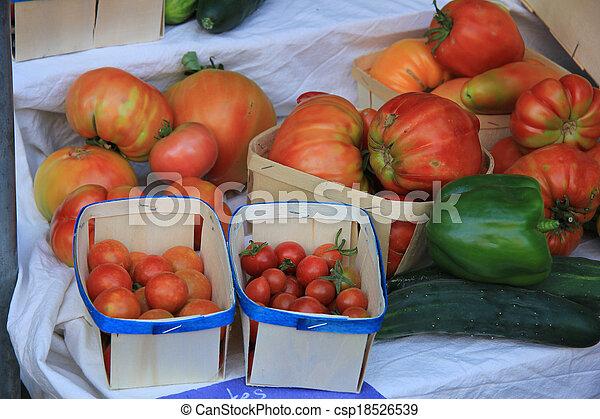 Tomatoes - csp18526539