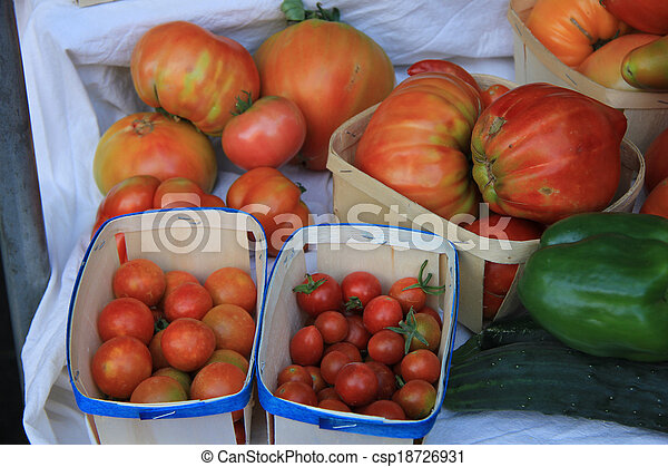 Tomatoes - csp18726931