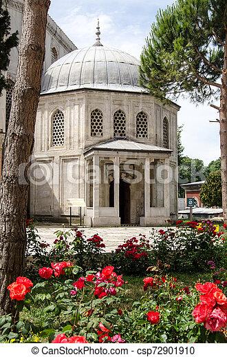 Tomb of the Princes, Istanbul, Turkey - csp72901910