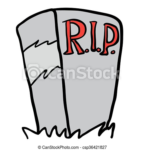 tombstone cartoon rh canstockphoto com