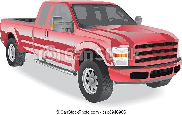 tonarm transportera, röd - csp8946965