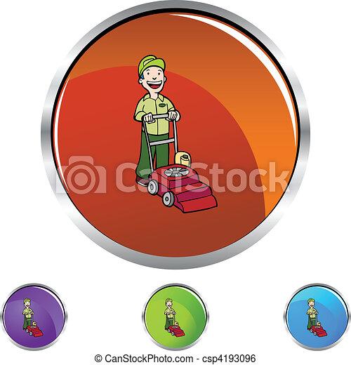 tondeuse gazon - csp4193096