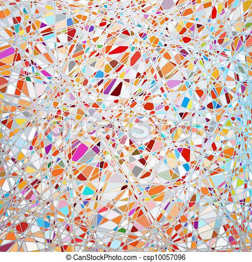 La textura de cristal manchada en un tono púrpura. EPS 8 - csp10057096