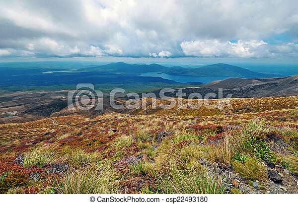 Tongariro National Park New Zealand - csp22493180