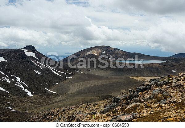 Tongariro National Park, New Zealand - csp10664550