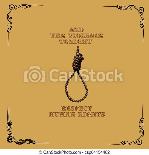 tonight, affisch, våldsamhet, avsluta - csp64154462
