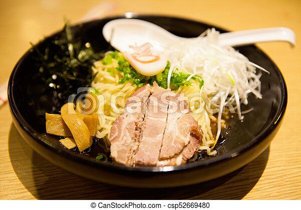 Tonkotsu Ramen noodle pork Japanese food