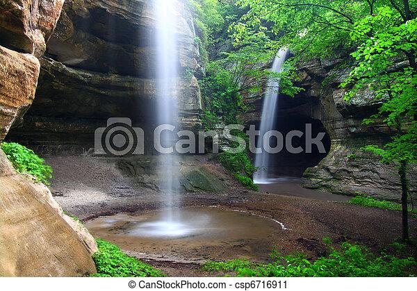 Tonti Canyon - Illinois - csp6716911