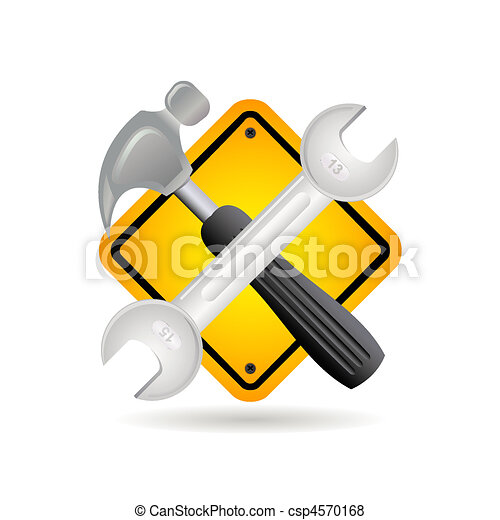 tool and sign - csp4570168