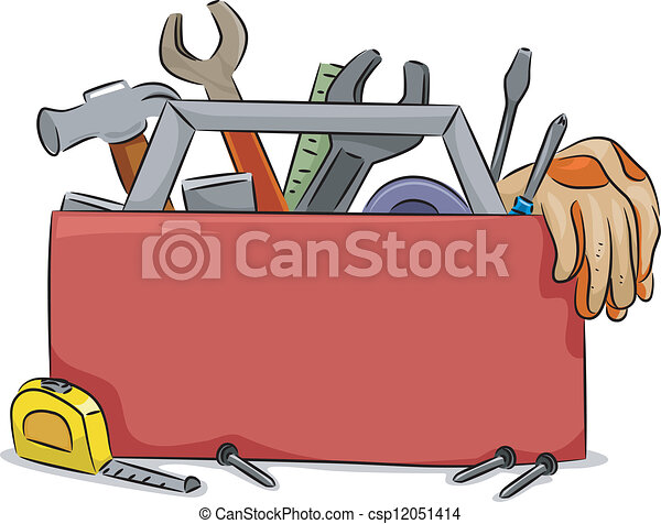 Box Wrench Clip Art Tool box blank ...