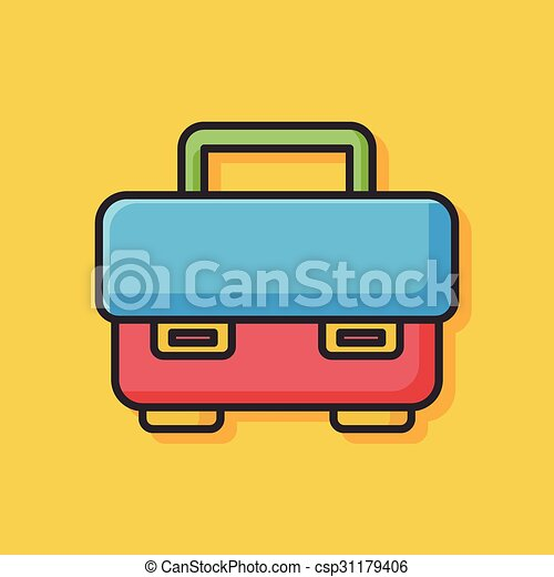 tool box icon - csp31179406