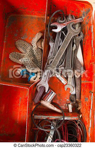 Tool box - csp23360322