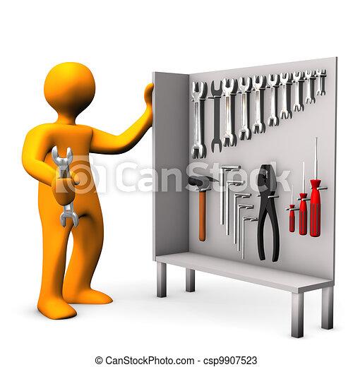 Tool Cabinet - csp9907523