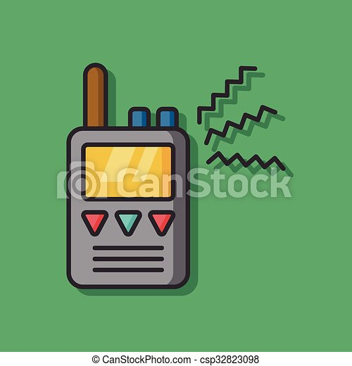 tool walkie vector icon - csp32823098