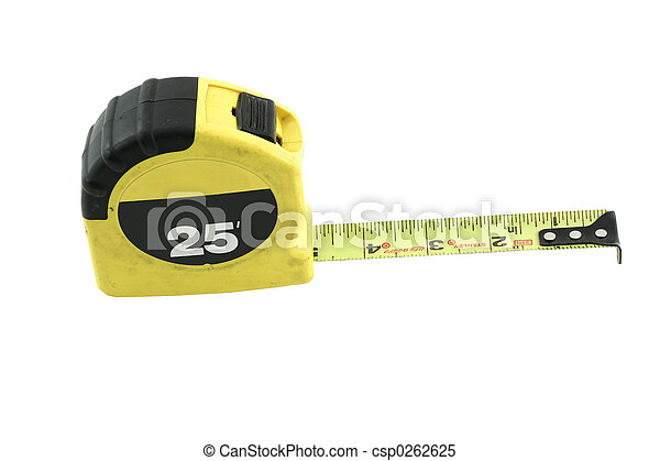 tools 009 measuring tape isolated - csp0262625