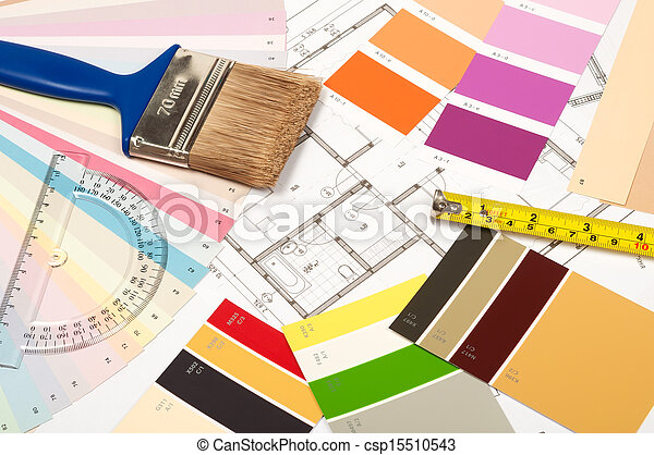 tools and accessories for home renovation  - csp15510543