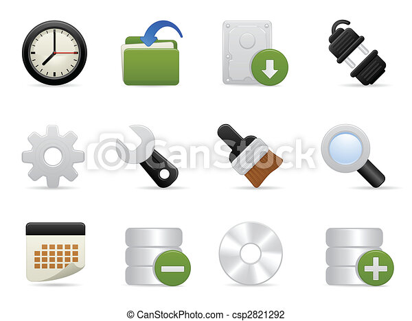Tools and Setting Icon set - csp2821292