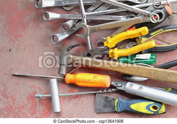 tools. - csp13641908