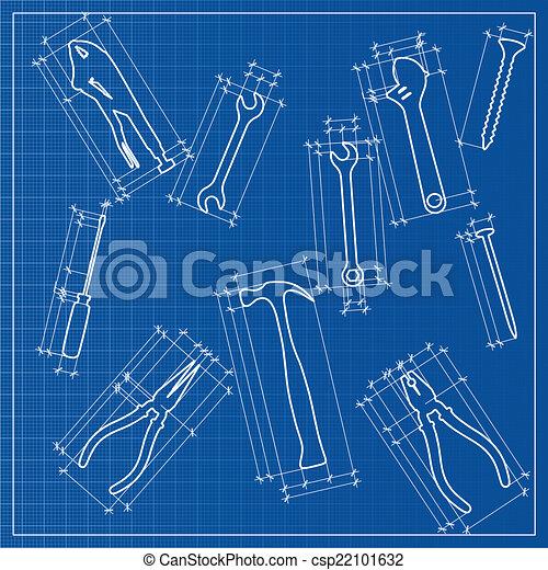 Tools blueprint sketch - csp22101632