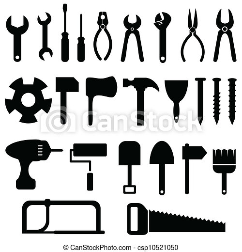 Tools icon set - csp10521050
