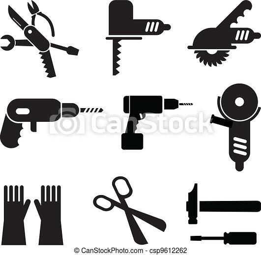 Tools icon set - csp9612262