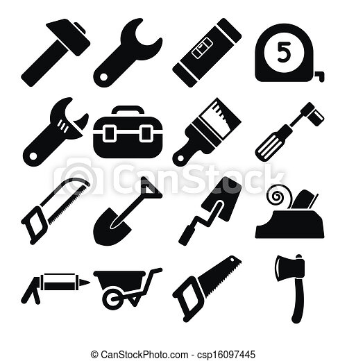 Tools Icons - csp16097445