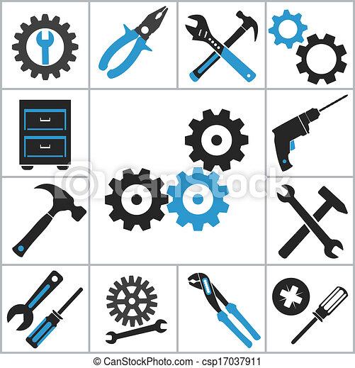 Tools icons - csp17037911