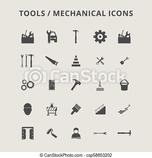 Tools Icons - csp58853202