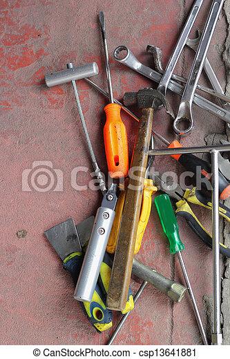 Tools. - csp13641881