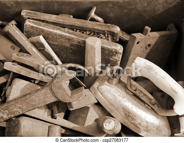 old tools rust for sale by junkman.