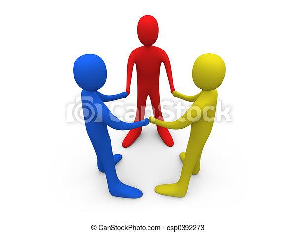 Toon Friends - csp0392273