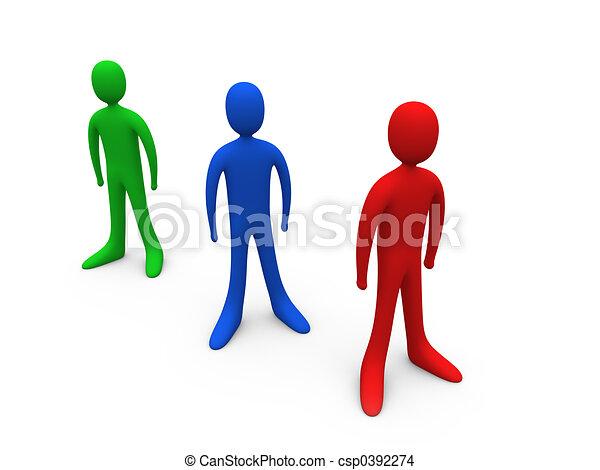 Toon Individuals - csp0392274