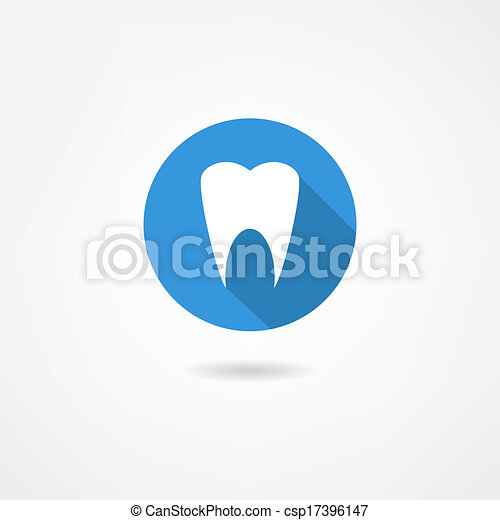 tooth icon - csp17396147