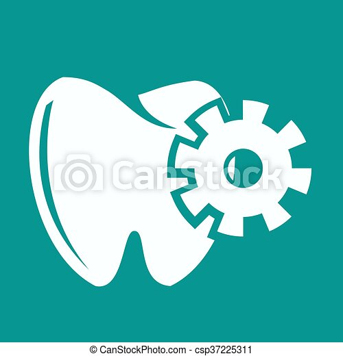 Tooth Icon - csp37225311