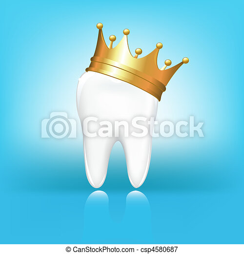 Tooth In Crown - csp4580687