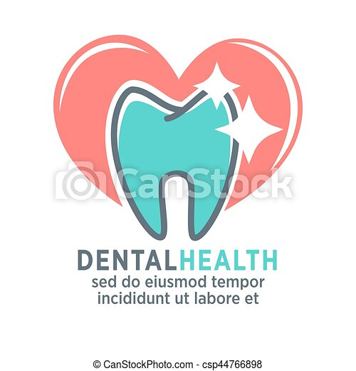 Tooth vector logo template for dentistry or dental clinic and health tooth vector logo template for dentistry or dental clinic maxwellsz