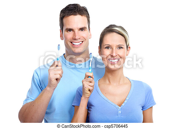 toothbrushing - csp5706445