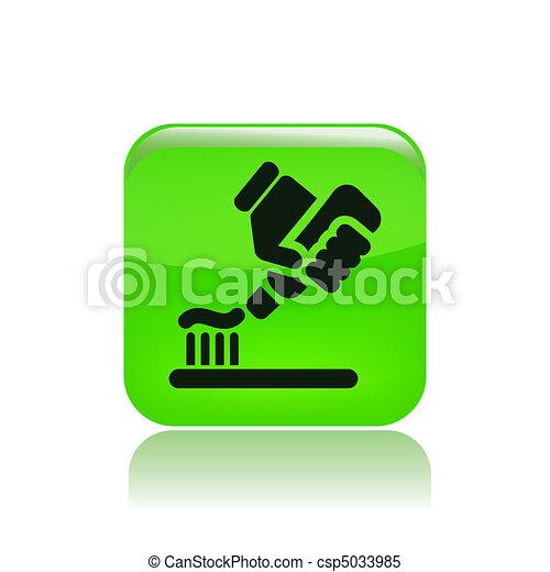 Toothpaste - csp5033985