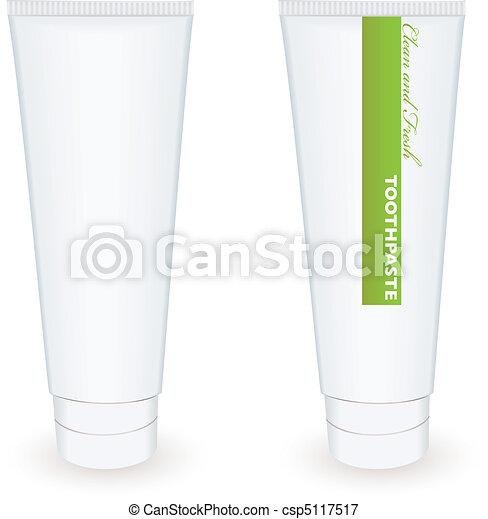 Toothpaste tube - csp5117517