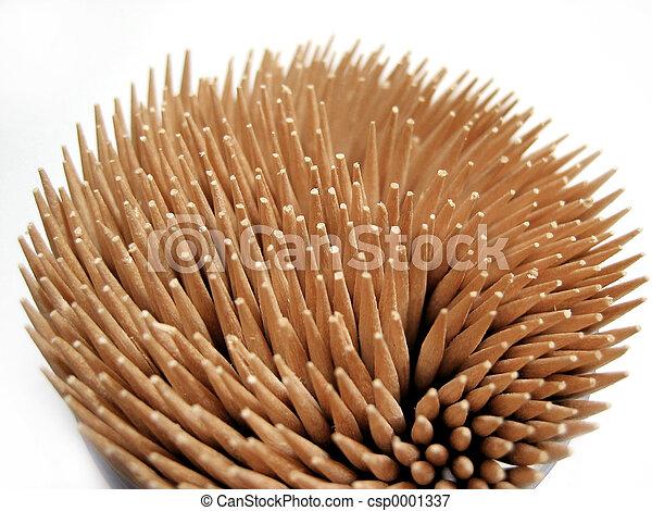 toothpicks macro - csp0001337