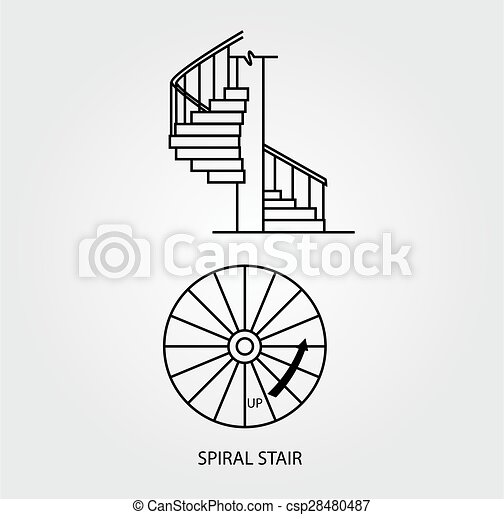 top and side view of a spiral stair top view and side free airplane clip art orange free airplane clipart downloads